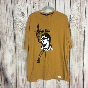 🌕4/$15🌕 Sean John Mustard Yellow Portrait Shirt